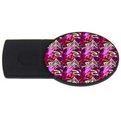 Ballerina Slippers 2gb Usb Flash Drive (oval)