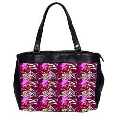 Ballerina Slippers Oversize Office Handbag (Two Sides)