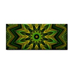 Woven Jungle Leaves Mandala Hand Towel