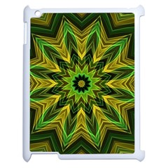 Woven Jungle Leaves Mandala Apple Ipad 2 Case (white)