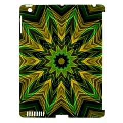 Woven Jungle Leaves Mandala Apple Ipad 3/4 Hardshell Case (compatible With Smart Cover)
