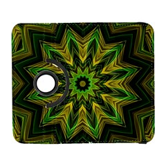 Woven Jungle Leaves Mandala Samsung Galaxy S  III Flip 360 Case