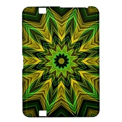 Woven Jungle Leaves Mandala Kindle Fire HD 8.9  Hardshell Case