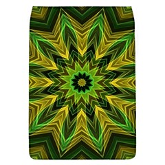 Woven Jungle Leaves Mandala Removable Flap Cover (Large)