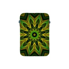 Woven Jungle Leaves Mandala Apple iPad Mini Protective Sleeve