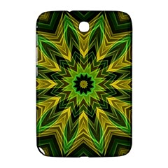 Woven Jungle Leaves Mandala Samsung Galaxy Note 8 0 N5100 Hardshell Case