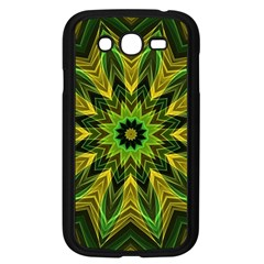 Woven Jungle Leaves Mandala Samsung Galaxy Grand Duos I9082 Case (black)