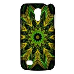 Woven Jungle Leaves Mandala Samsung Galaxy S4 Mini (GT-I9190) Hardshell Case