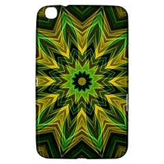 Woven Jungle Leaves Mandala Samsung Galaxy Tab 3 (8 ) T3100 Hardshell Case