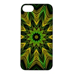 Woven Jungle Leaves Mandala Apple iPhone 5S Hardshell Case