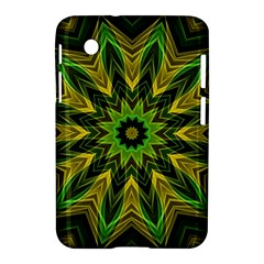 Woven Jungle Leaves Mandala Samsung Galaxy Tab 2 (7 ) P3100 Hardshell Case