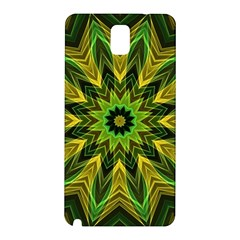 Woven Jungle Leaves Mandala Samsung Galaxy Note 3 N9005 Hardshell Back Case