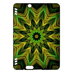 Woven Jungle Leaves Mandala Kindle Fire Hdx 7  Hardshell Case