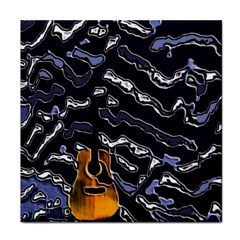 Sound Waves Ceramic Tile