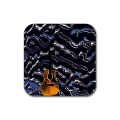 Sound Waves Drink Coaster (Square)