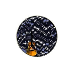 Sound Waves Golf Ball Marker (for Hat Clip)
