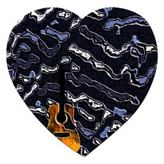 Sound Waves Jigsaw Puzzle (Heart)