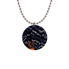 Sound Waves Button Necklace