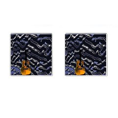 Sound Waves Cufflinks (Square)