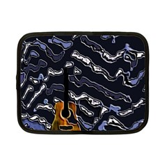 Sound Waves Netbook Sleeve (Small)
