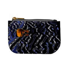 Sound Waves Coin Change Purse