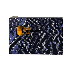 Sound Waves Cosmetic Bag (Large)