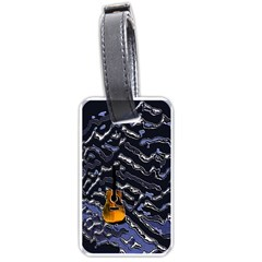 Sound Waves Luggage Tag (One Side)