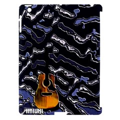 Sound Waves Apple iPad 3/4 Hardshell Case (Compatible with Smart Cover)