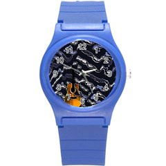 Sound Waves Plastic Sport Watch (Small)
