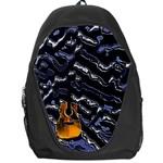 Sound Waves Backpack Bag Front
