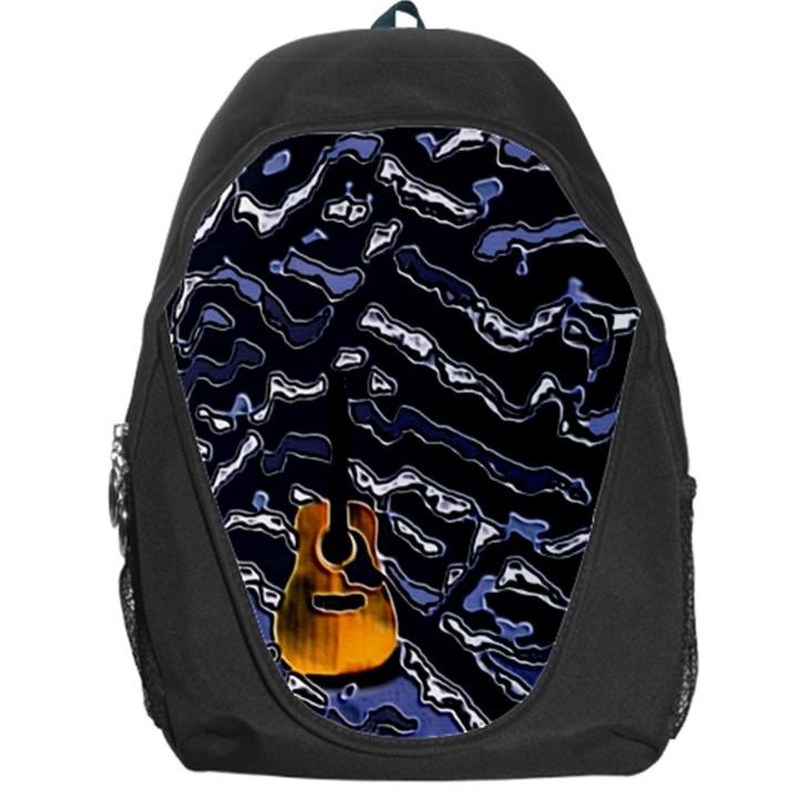 Sound Waves Backpack Bag