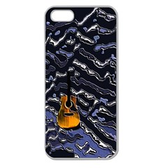 Sound Waves Apple Seamless iPhone 5 Case (Clear)