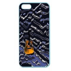 Sound Waves Apple Seamless Iphone 5 Case (color)