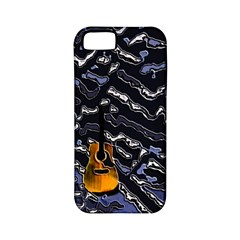 Sound Waves Apple Iphone 5 Classic Hardshell Case (pc+silicone)