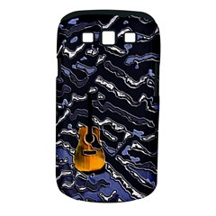 Sound Waves Samsung Galaxy S III Classic Hardshell Case (PC+Silicone)