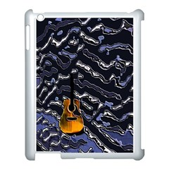 Sound Waves Apple Ipad 3/4 Case (white)