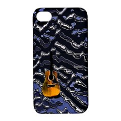 Sound Waves Apple iPhone 4/4S Hardshell Case with Stand