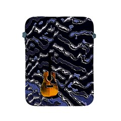Sound Waves Apple Ipad Protective Sleeve