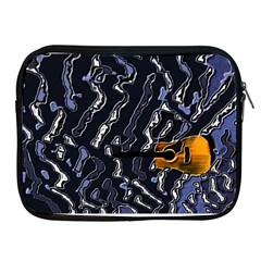 Sound Waves Apple iPad Zippered Sleeve
