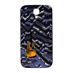Sound Waves Samsung Galaxy S4 I9500/I9505  Hardshell Back Case