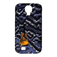 Sound Waves Samsung Galaxy S4 Classic Hardshell Case (PC+Silicone)