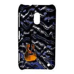Sound Waves Nokia Lumia 620 Hardshell Case