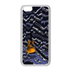 Sound Waves Apple iPhone 5C Seamless Case (White)