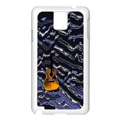 Sound Waves Samsung Galaxy Note 3 N9005 Case (white)