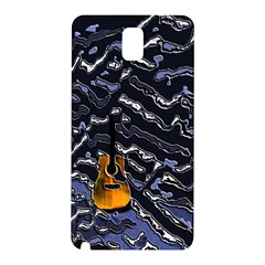 Sound Waves Samsung Galaxy Note 3 N9005 Hardshell Back Case
