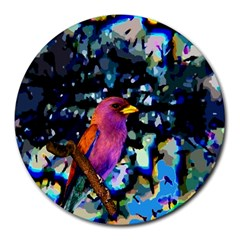 Bird 8  Mouse Pad (round)
