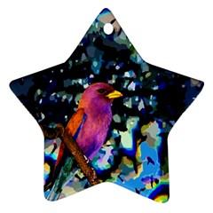 Bird Star Ornament