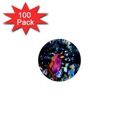 Bird 1  Mini Button Magnet (100 pack)