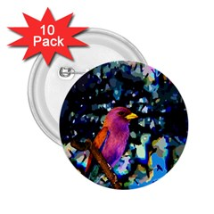 Bird 2.25  Button (10 pack)