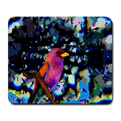Bird Large Mouse Pad (Rectangle)